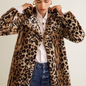 Jackets & Blazers - Vintage leopard coat